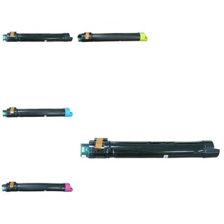 Insten Premium 2BCMY Toner Cartridge 006R01513/ 006R01514/ 006R01515/ 006R01516 for Xerox WorkCenter 7530/ 7535/ 7545/ 7556