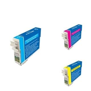 INSTEN Epson T127220/ T127320/ T127420 3-ink Cartridge Set (Remanufactured)