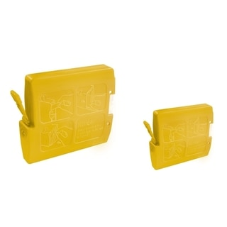 INSTEN 2-ink Yellow Cartridge Set for Brother LC-51Y