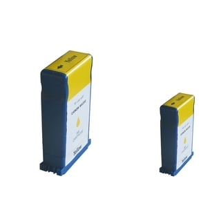 BasAcc 2-ink Yellow Cartridge Set Compatible with Canon BCI-1431Y