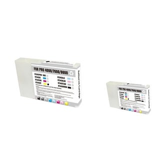 Epson T543400 2-ink Yellow Cartridge Set (Remanufactured)