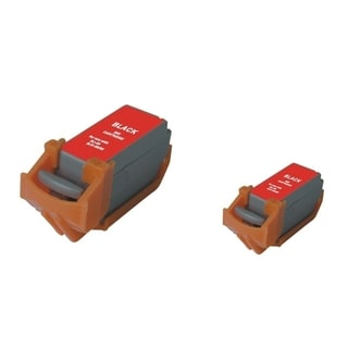 BasAcc 2-ink Black Cartridge Set Compatible with Canon BCI-11B