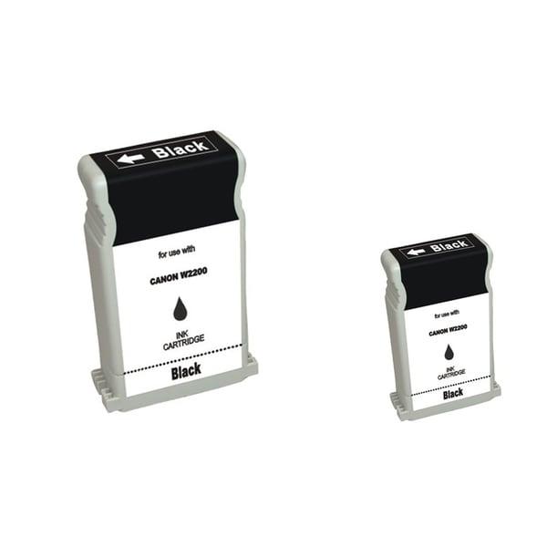 INSTEN 2-ink Black Cartridge Set for Canon BCI-1302BK