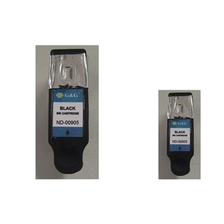 INSTEN 2-ink Black Cartridge Set for Dell DW905