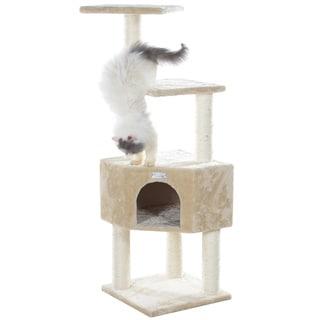 GleePet 48-inch Beige Cat Tree