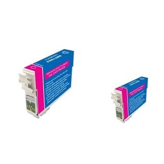 INSTEN Epson T125320 2-ink Magenta Cartridge Set (Remanufactured)
