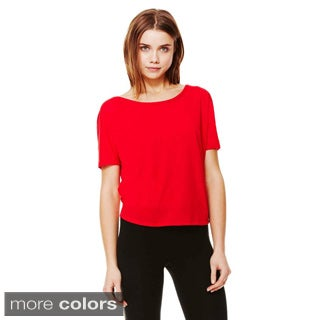 Bella Women's Flowy Cutout Back T-shirt