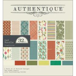 Tradition Bundle Cardstock Pad 6 X6 32/Sheets -