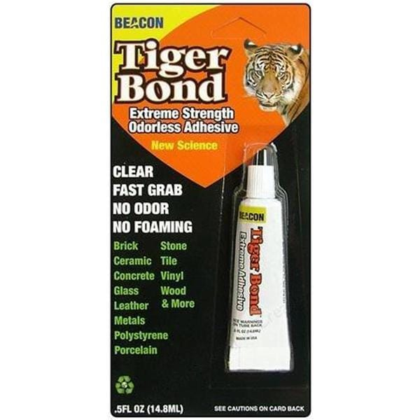 Tiger Bond Adhesive - .5 Ounce