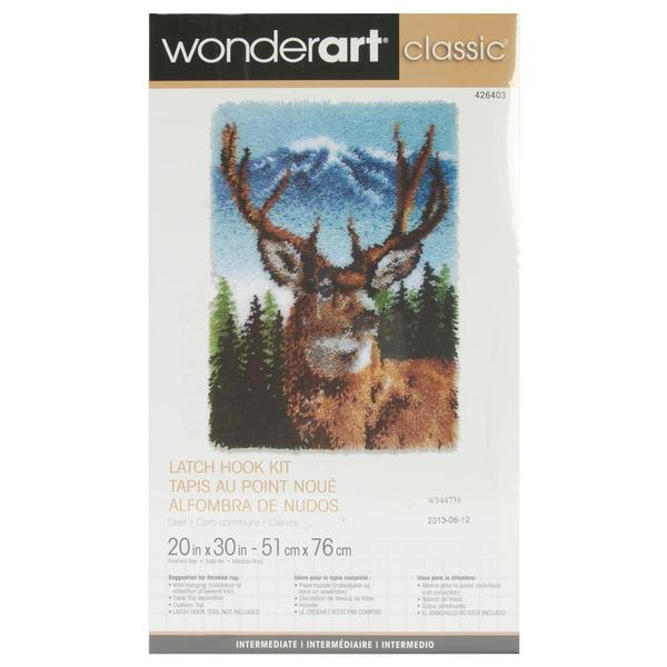 Classics Latch Hook Kit 20 X30 - Deer