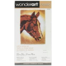 Classics Latch Hook Kit 20 X30 - Horse