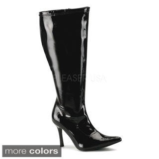 Funtasma Women's 'Lust-2000X' Black Wide Width Knee-high Boots
