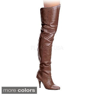 Pleaser Women's 'Legend-8868' Over-the-knee Stiletto Boots