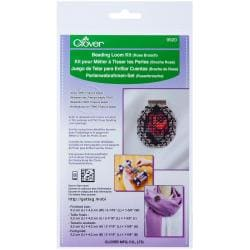 Beading Loom Kit - Rose Brooch