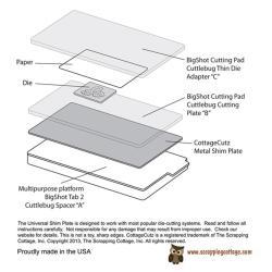 CottageCutz Universal Shim Plate -