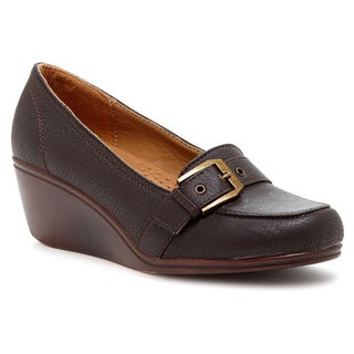 Comforts by Madness Wedge Buckle Loafer