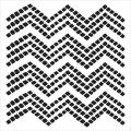 Crafter's Workshop Templates 12 X12 - Chevron Tiles