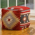 Christopher Knight Delaware Wool Pouf Ottoman