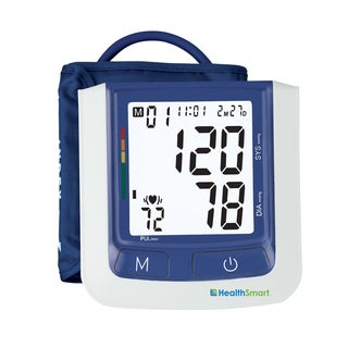 HealthSmart Select Automatic Arm Digital Blood Pressure Monitor Large Cuff without AC Adapter