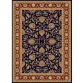 Centennial Navy/ Merlot Red Traditional Area Rug (11'3x15')