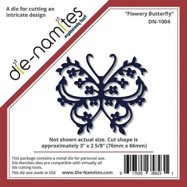 Die-Namites Die - Flowery Butterfly