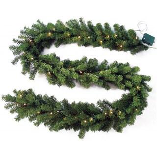 "Needle Pine Garland (9'x10"")"