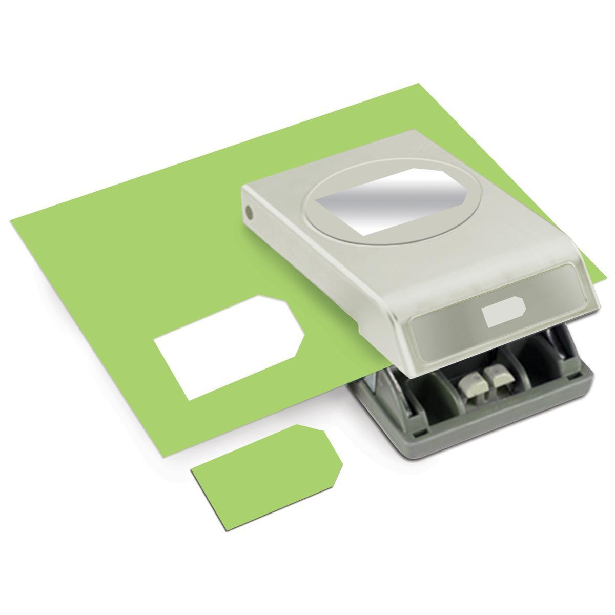 Slim Paper Punch Large - Tag 2.5