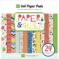 Paper & Glue Double-Sided Cardstock Pad 6 X6 24/Sheets -