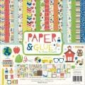Paper & Glue Collection Kit 12 X12 -