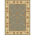 "Centennial Blue Traditional Area Rug (11'3""x15')"