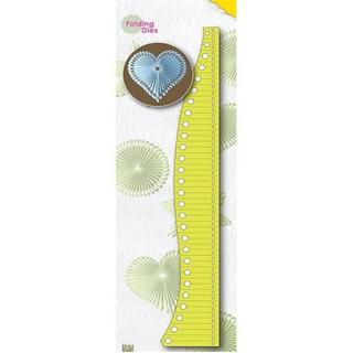 Nellie's Choice Folding Dies - Heart