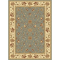"Centennial Blue Traditional Area Rug (5'3""x7'3"")"