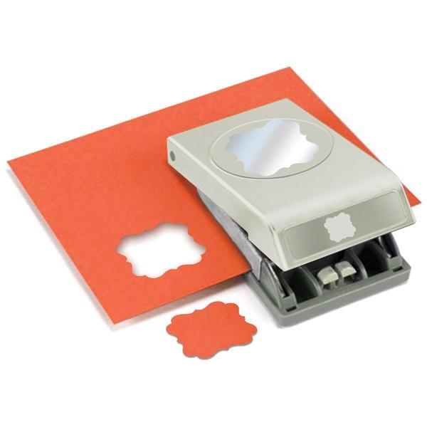 Slim Paper Punch Extra Large - Flourish Square Approx. 1.75