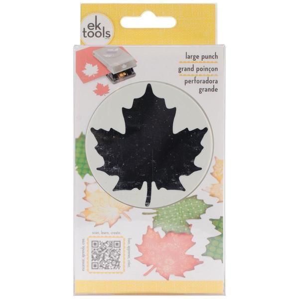 Slim Paper Punch Large - Maple Leaf
