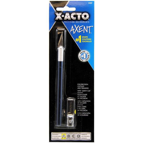 X-Acto AXENT Knife W/Cap - Blue