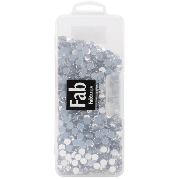 Rhinestones .3125 In 3 X6.75 X1 Box - Clear