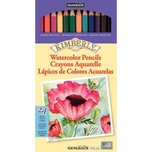 Kimberly Watercolor Pencils 24/Pkg - 11782582