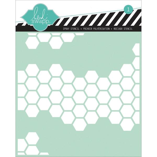 Stencils 6 X6 - Honeycomb