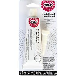 Tulip Crystal Bond Fabric Adhesive 2 Ounces -