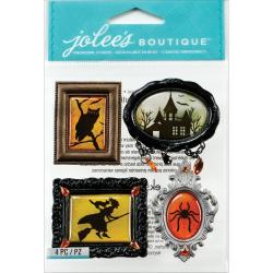 Jolee's Halloween Stickers - Framed Silhouettes