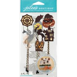 Jolee's Halloween Stickers - Silhouette Sticks