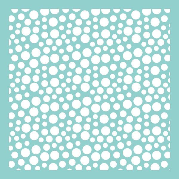 Template 12 X12 - Bubbles