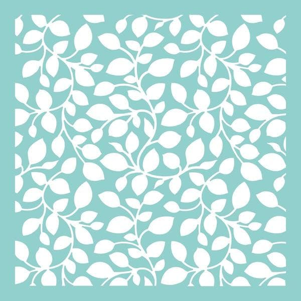 Template 12 X12 - Leaves