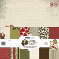 St. Nicholas Paper Pack 12 X12 - 6 Double-Sided Designs/2 Each + Stickers