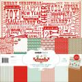 Gingerbread Paper Pack 12 X12 - 6 Double-Sided Designs/2 Each + Stickers
