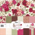 Lady Rose Paper Pack 12 X12 - 6 Double-Sided Designs/2 Each + Stickers