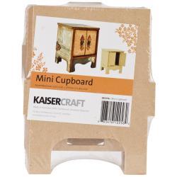 Beyond The Page MDF 2-Door Mini Cupboard - 5 X4.25 X6.25