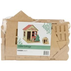 Beyond The Page MDF Little Cottage House - 7.5 X11 X9.5