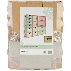 Beyond The Page MDF Complete Storage Unit - 17.25 X4.25 X14.5