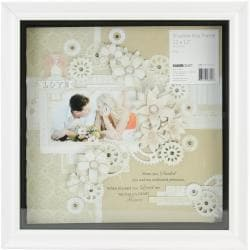 Shadow Box Frame 12 X12 - White